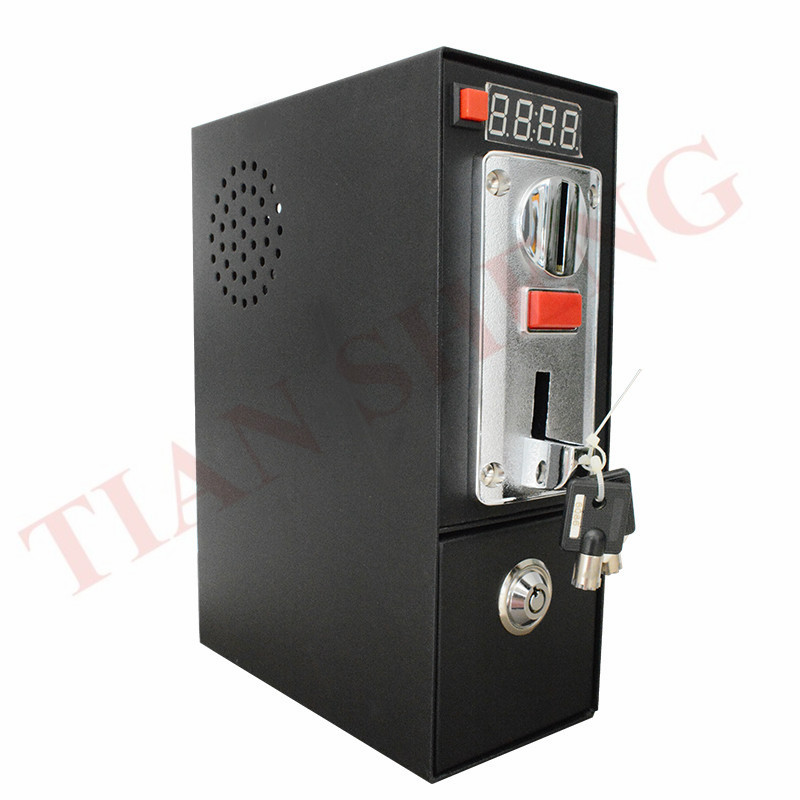 DG600F Coin Operated Timer Control Box With Multi Coin Selector Acceptor For Washing Machine Massage Chair Support 6 Kinds Coin