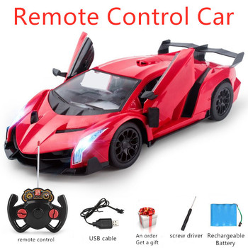 Large Size 1:12 Remote Control Car Stunt Drift Toy Car With Lights Kids Toys Gift Sports Vehicle For Children Birthday Presents 2