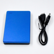 Stainless Steel Hard Disk Case 2.5 Inch USB3.0 External Hard Drive Enclosure No Tools Required In Seconds