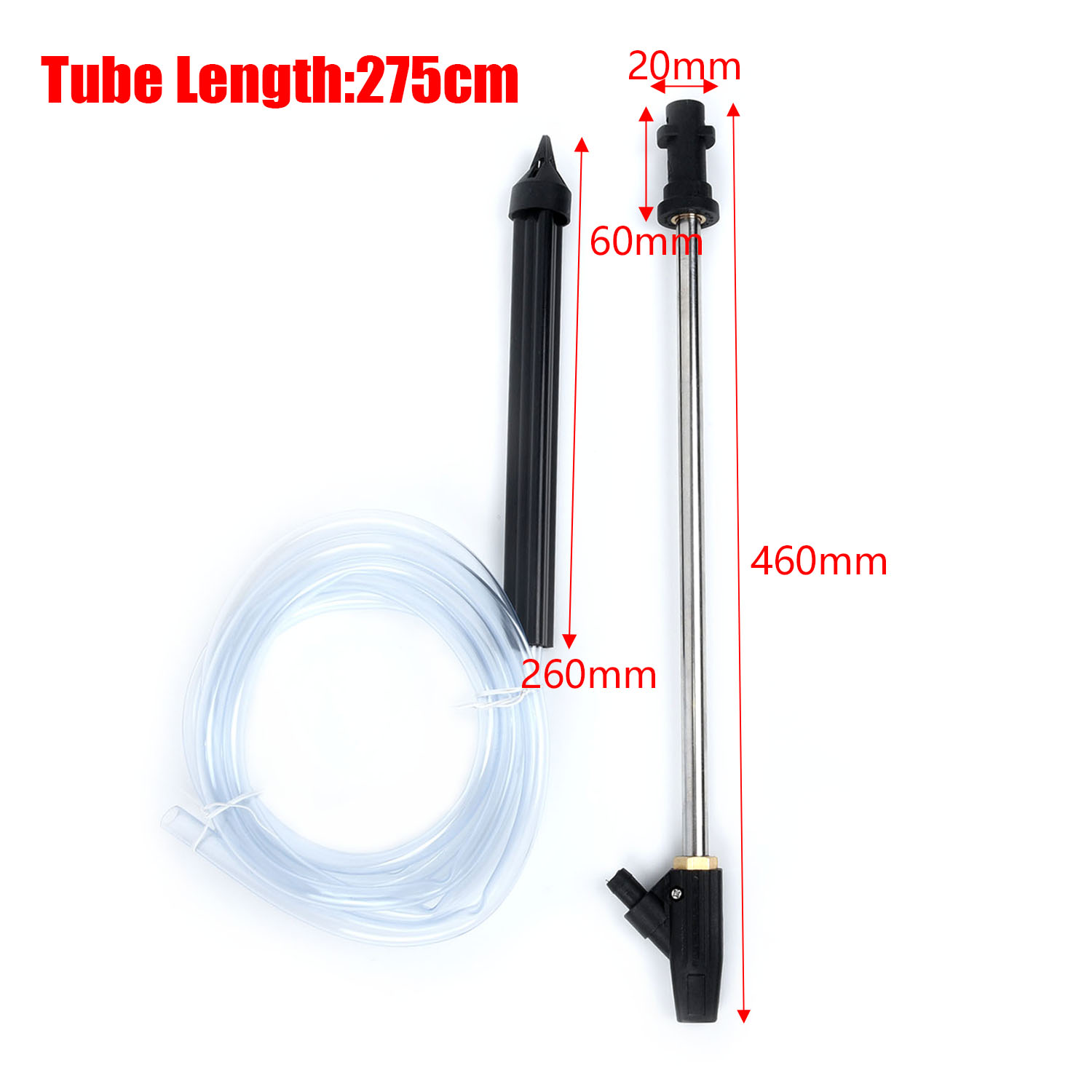 High Pressure Blasting Hose Washing Cleaning Nozzle Tubes For Karcher K Series