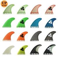 Fins Future G5/G7 fins Barbatana Surfboard Fin Thruster Honeycomb Fibreglass Fins 3 Pieces per set