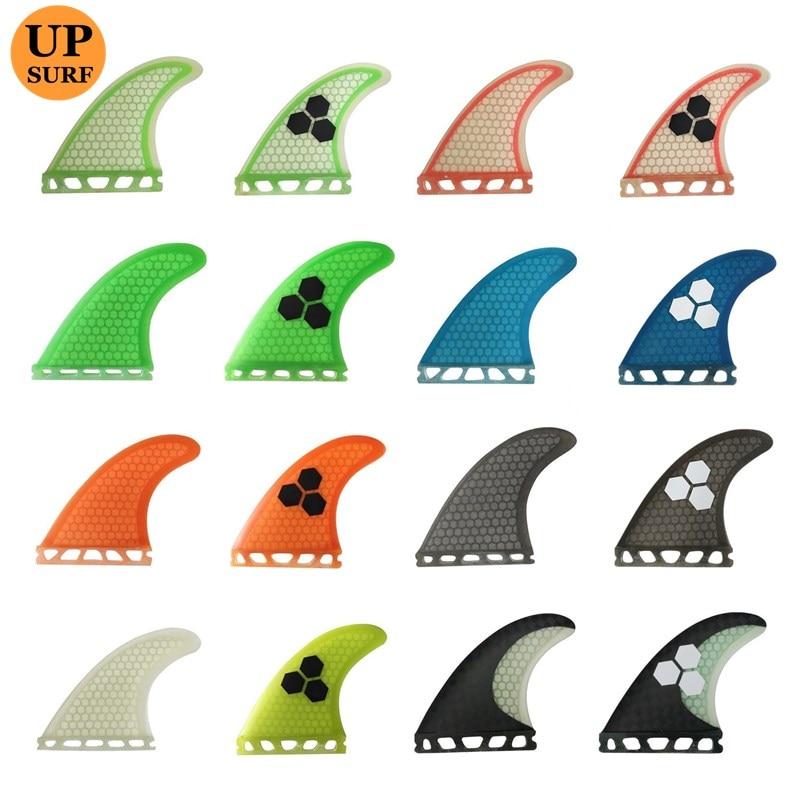 Clearance Sale Fins Future G5/G7 Fins Barbatana Surfboard Fin Thruster Honeycomb Fibreglass Fins 3 Pieces Per Set