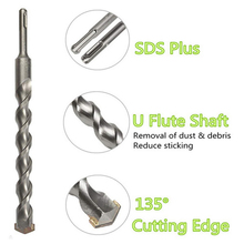 Free shipping SDS MAX shank 10/25*280mm impact drill bits carbide Tipped hammer Drill Bits for masonry work