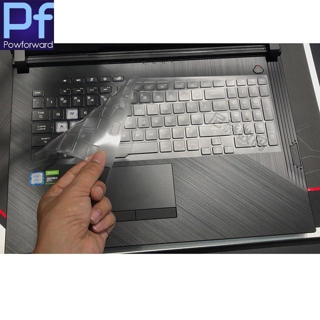 TPU wyczyść osłona klawiatury skóry dla asus rog Strix G G731GV G731GW G731GT G731GU G 731 GW GT GU 17.3 cal laptopa do gier