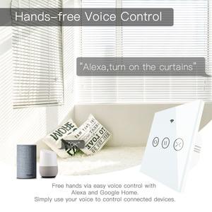 Image 5 - WiFi חכם וילון עיוור מתג חשמלי ממונע Tuya וילון רולר תריס עובד עם Alexa הד Google בית חכם בית
