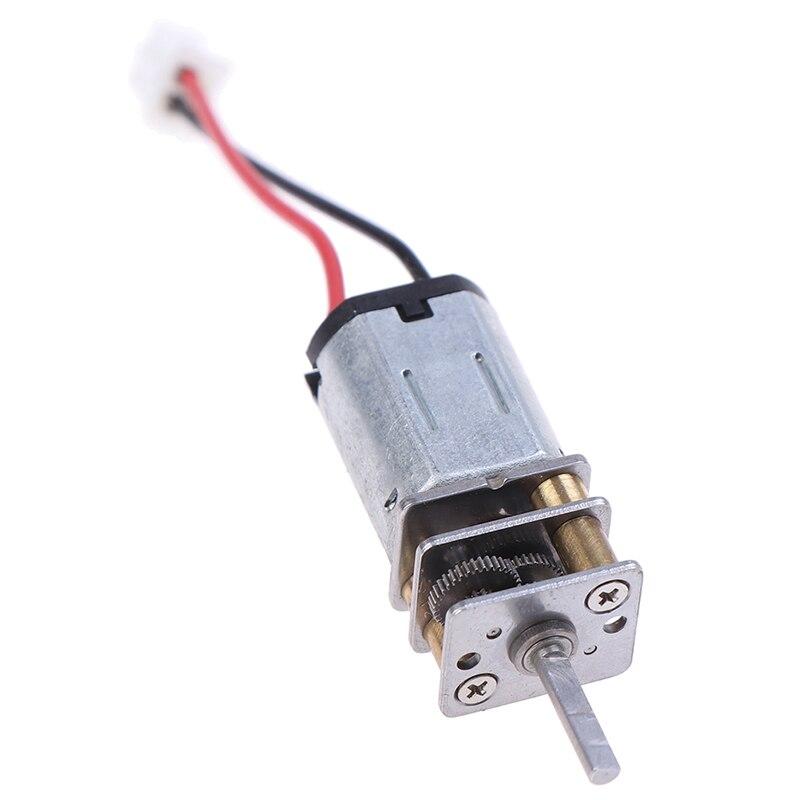 Двигатель постоянного тока N20 с большим крутящим моментом мотор-редуктор с XH2.54-2P кабелем для умного автомобиля DIY