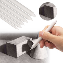 Sharpen Stick Pencil Drawing-Pen-Tool Sketch-Pen Blending Smudge Stump 6pc Sandpaper