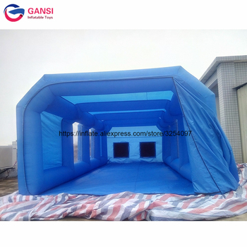 Free Shipping Spraying Booth Inflatable Painting Room Customized Inflatable Spray Booth Tent For Car Painting hot selling paint booth inflatable portable paint booth inflatable car tent inflatable spray booth for car tent toys