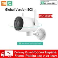 Xiaomi-cámara inteligente 2K 1296P EC3 para exteriores, Webcam PTZ impermeable con WIFI, cámara IP de 270 °, señal de antena Dual, funciona con la aplicación Mi Home