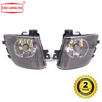 For BMW 7 Series F01 F02 730 740 750 2008 2009 2010 2011 2012 Car Front LED DRL Fog Light Lamp With Bulbs Yellow And White Color