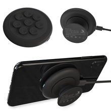 S4 Wireless Charger Suction Cup 10W Quick Charging Pad Game Artifact Phone Mini Portable With Airbag Telescopic