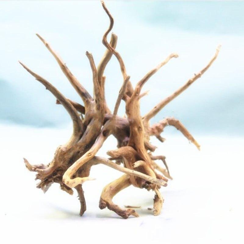 Decorazione dell'acquario tronco di legno naturale albero di Driftwood acquario serbatoio di pesce sfondo moncone pianta Cuckoo radice albero tronco ornamento|Decorazioni| - AliExpress