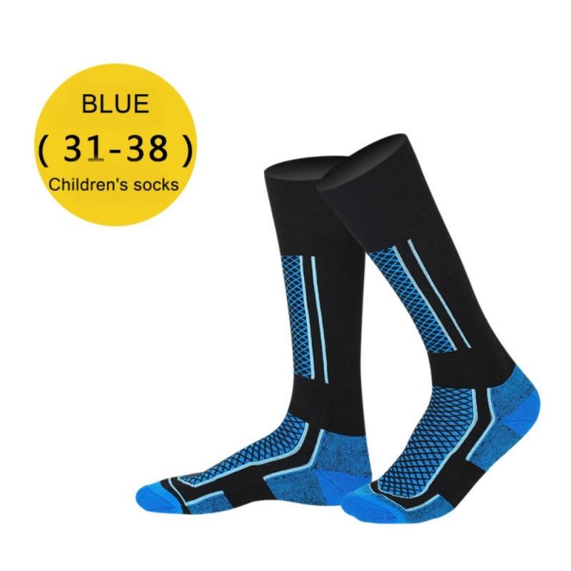 Children Football Ski Socks Winter Thermal Cotton Thicken  Socks Cycling Skiing Hiking Stocking Socks Leg Warmer