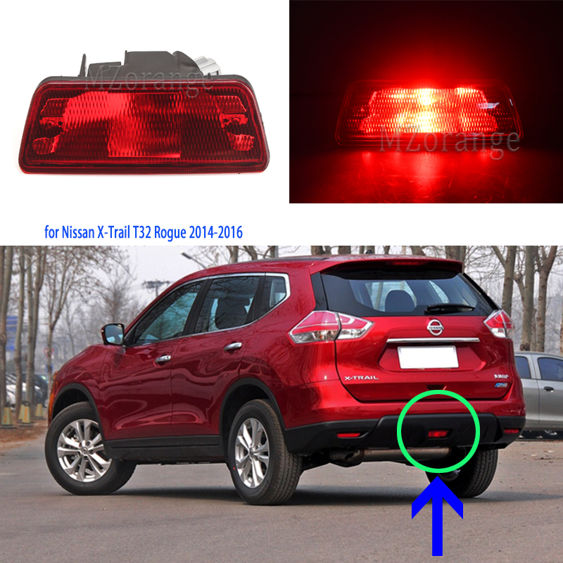 for <font><b>Nissan</b></font> for <font><b>X</b></font> <font><b>Trail</b></font> <font><b>T32</b></font> <font><b>Led</b></font> tail light for Juke Rogue 2014-2016 <font><b>led</b></font> lights rear bumper light stop lamp brake light rear light image