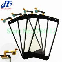 10 Uds para Alcatel One Touch PIXI 4 5,0 OT5010 OT50245010D 5010E 5010G Digitalizador de pantalla táctil frontal pantalla exterior lente de cristal