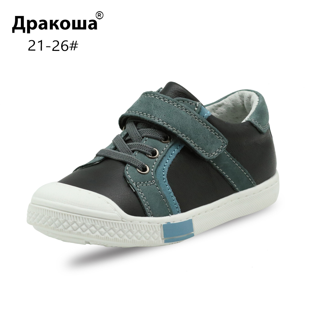 Apakowa Spring Autumn Baby Toddler Kids Low-top Fashion Anti-Slippery Sneakers Classic Casual Running Shoe For Boys And Girls