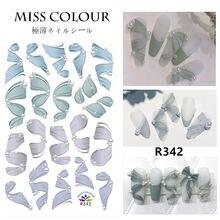 3d Новые наклейки для ногтевого дизайна с бабочками ins клейкие