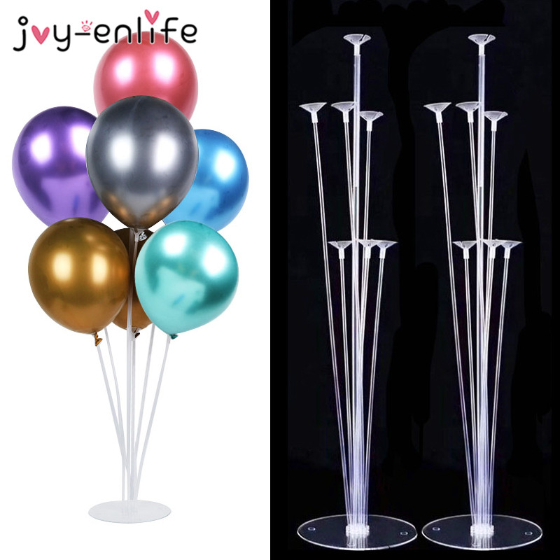 Ballons Accessories Balloon Holder Stand Ballon Arch Chain Ballons Glue Dot Kids Birthday Party Baby Shower Wedding Decoration