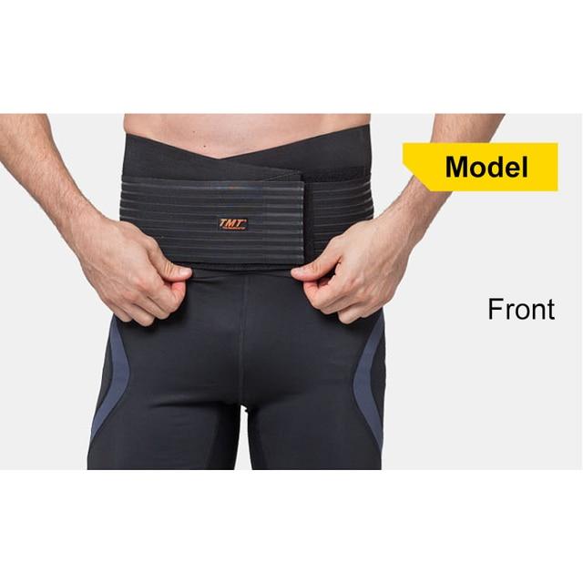 Men Women Nylon Waist Trimmer Belt Weight Loss Sweat Band Wrap Fat Tummy Stomach Sauna Sweat Belt For Gym Fitness Waist Support 2