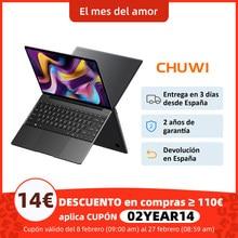 CHUWI GemiBook Pro 14 pulgadas 2160*1440 de resolución Intel lago Géminis J4125 Quad Core Windows 10 OS 12GB de RAM 256GB SSD portátil