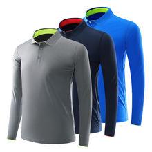 Осень Для мужчин для гольфа и женские Гольф дышащая одежда с