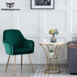 Nowoczesne krzesła do jadalni domowe krzesła restauracyjne meble Nordic miękka sofa krzesło chińskie żelazko proste krzesło biurowe Casual Cafe