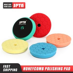 "Image 1 - SPTA 3.5""(90mm)/6""(150mm)/ Car Spong Polishing Pads &Buffing Pads For DA/RO/GA 3""(80mm)/5""(125mm) Car Polisher"