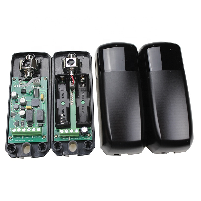 IP54 Automatic Gate Wireless Battery Powered Infrared Safety Beam Photocell Sensor With Presence Function