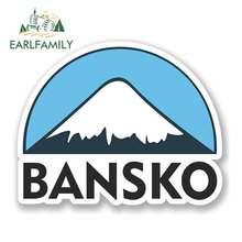 EARLFAMILY 13cm x for Bansko Ski Snowboard RV VAN 3D DIY Fine Decal Waterproof Anime Vinyl JDM Bumper Trunk Truck Graphics
