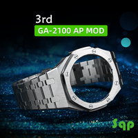 The Third Generation GA2100 Case Modification GA2110 Watchband Bezel 100% Metal 316L Stainless Steel