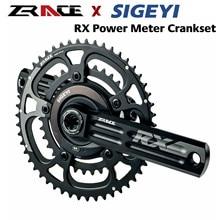 ZRACE x SIGEYI RX Мощность прибор для измерения диаметра окружности болтов (2x10/11 / 12 Скорость система, 50/34T 52/36T, 53/39T, 170 мм/172,5 мм/175 мм DUB BB29