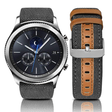 20mm 20mm Canvas Watch Straps For Samsung Galaxy Watch 42mm
