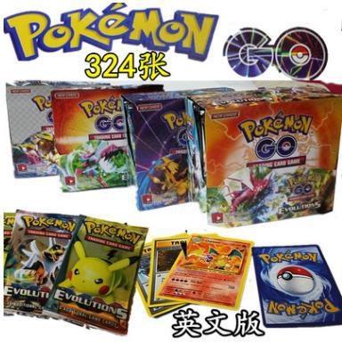 324pcs TAKARA TOMY Pet Pokemon Cards 2019 The Newest Pokemon English Card  The Toy Of Children