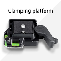 Wholesale QR-40 Panoramic 360 Degree Rotating Fast Mounting Plate Clamp Base Tripod Clamp Dividing Plate Panoramic Pan Head