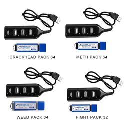 Prawdziwy niebieski pakiet Mini Crackhead 32G/64G zestaw do walki na playstation Classic playstation z miniaturowy hub usb w Części zamienne i akcesoria od Elektronika użytkowa na
