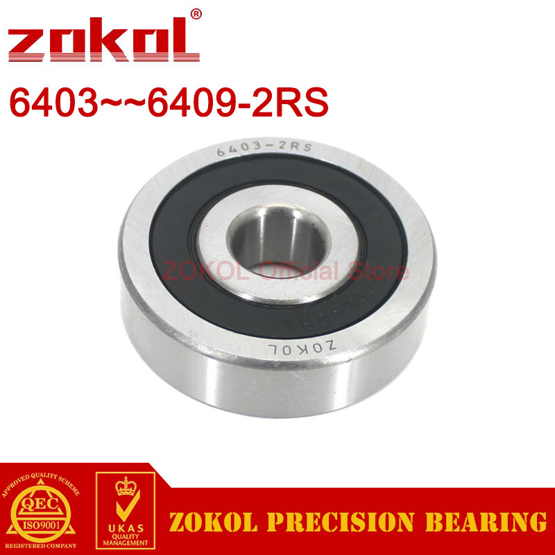 ZOKOL 6403 6404 6405 6406 6407 6408 6409 RS 2RS Deep Groove ball bearing Heavy duty bearings|bearing bearing|bearing groovebearing ball - AliExpress