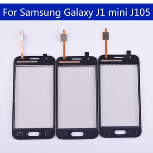 Image 3 - 10pcs الكثير J105 لسامسونج غالاكسي J1 البسيطة J105 J105H J105F J105B J105M SM J105F لوحة شاشة لمس محول الأرقام زجاج لمس