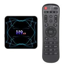 H9 X3 Smart TV Box Android 9.0 S905X3 czterordzeniowy 2.4G/5Ghz podwójny Wifi 4GB 64GB 8K HD Youtube dekoder H9X3 odtwarzacz multimedialny z androidem