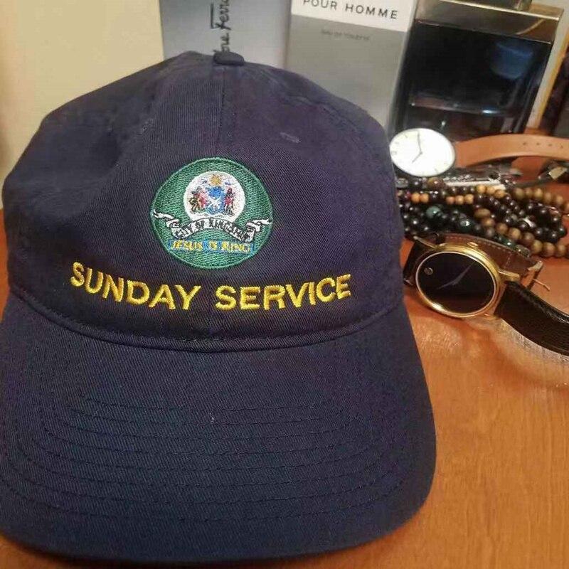 Jesus is King Kanye West Sunday Service Baseball Caps  4