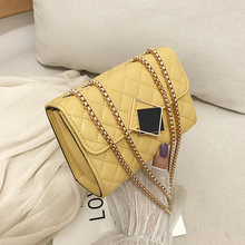 MONNET CAUTHY Autumn New Female Bags Fashion Occident Style Elegant Lady Crossbody Bag Solid Color Yellow Green White Black Flap
