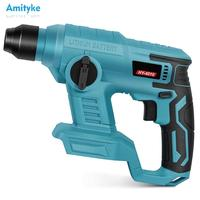 18V Makita Cordless Hammer Drill Brushed Motor Only for Original Makita 18V Battery Rotary without Battery Impact Power Tool