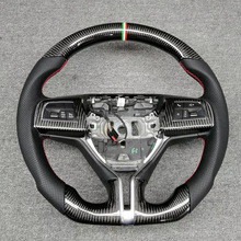 Steering-Wheel Carbon-Fiber Maserati Ghibli Quattroporte Customized for Levante