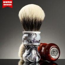 OUMO BRUSH pittura a Inchiostro Venus badger pennello da barba con Manciuria/ACE/SETA/GANCIO/PESO