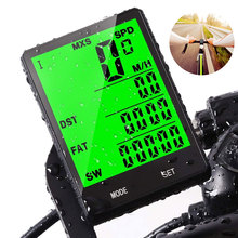 цена на Bike Stopwatch Digital Rate Bike Computer Cycling Computers Bicycle Speedometer Wireless Waterproof