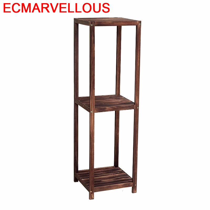 Estanteria Balkon Pot Estante Table Repisa Para Plantas Huerto Urbano Madera Dekoration Rack Outdoor Flower Shelf Plant Stand