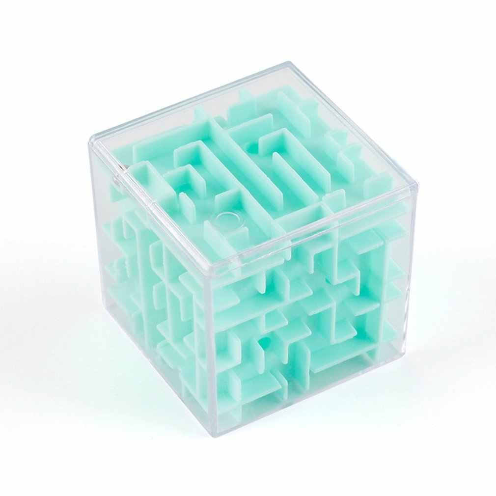 3D Maze Ball Rotation Cube Professionelle Geschwindigkeit Puzzle Cube Mit Aufkleber Kinder Gehirn Teaser Cubo Magico Spielzeug