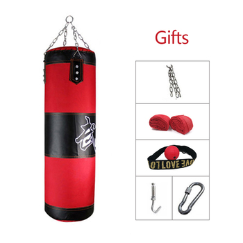 60cm-150cm  Punching bag Training Fitness MMA Boxing Bag Sport Kick Boxing Sandbag Muay Thai Boxer Training Set Empty wesing mma trunks muay thai boxing short pants sport cool spider pattern kick boxing sport fitness training shorts