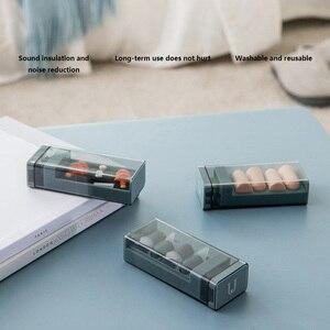 Звуконепроницаемые затычки Youpin Jordan & Judy, бесшумный Профессиональный светильник для снижения уровня шума, мягкие силиконовые затычки для путешествий