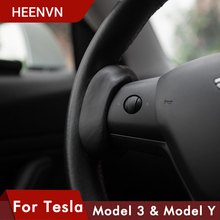 Model3 Car Steering Wheel Booster For Tesla Model 3 Y Autopilot Counterweight Accessories Ring FSD Automatic Assisted Weight AP