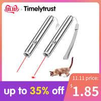 3 em 1 mini ponteiro laser vermelho lanterna para cat chase brinquedos de treinamento caneta ponteiro laser usb recarregável led lanterna caneta ferramenta